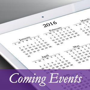 Lisa D presents Coming Events