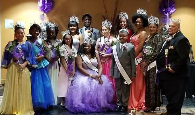 Purple Pageant Royal Court