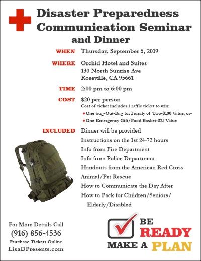 Disaster Preparedness Flyer