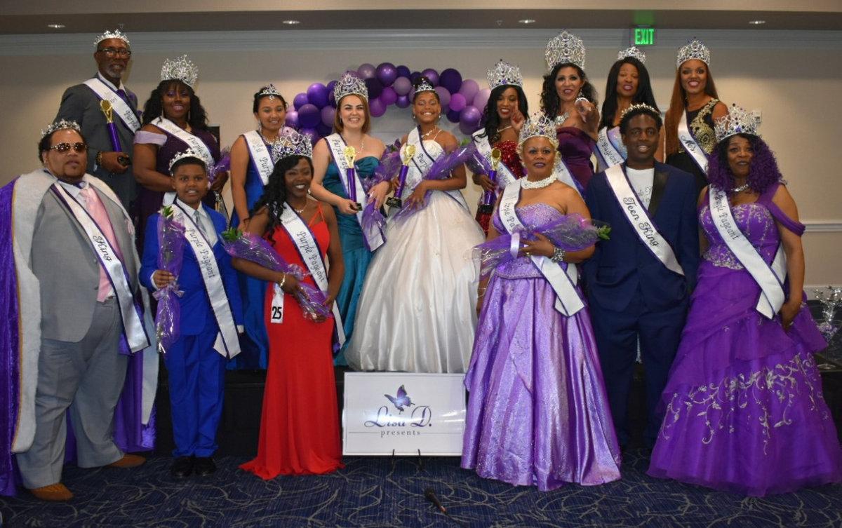 Purple Pageant Royal Court 2019